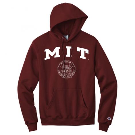 MIT Champion Hooded Sweatshirt