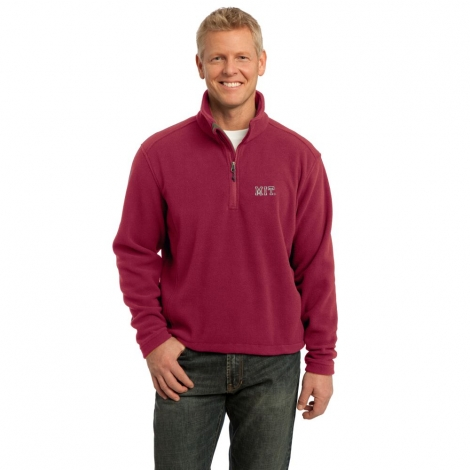 MIT Fleece 1/4 Zip Pullover
