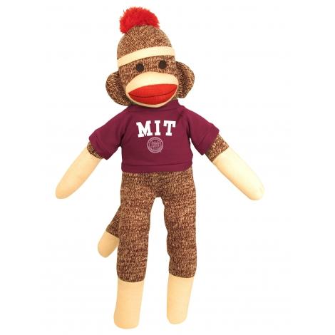 "MIT 20"" Sock Monkey"