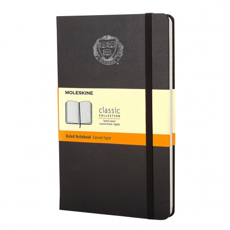 Harvard Moleskin Ruled Notebooks