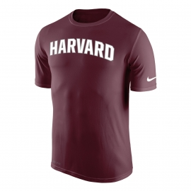 Harvard Nike Dri-Fit Arched Logo Legend Tee