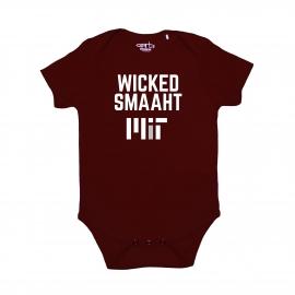 MIT Infant Wicked Smaaht Onesie