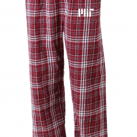 MIT Flannel Pant With Contemporary Logo