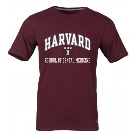Harvard School of Dental Medicine Essential Short Sleeve Tee Shirt