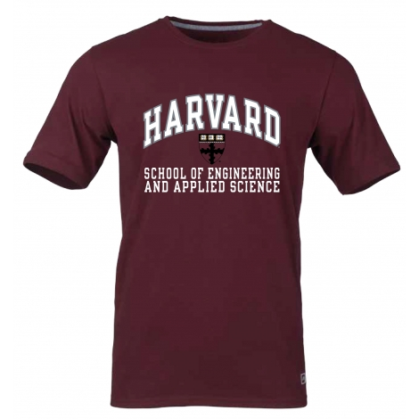 Harvard School of Engineering and Applied Sciences Essential Short Sleeve Tee Shirt