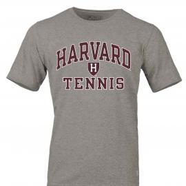 Harvard Tennis Essential Short Sleeve Tee Shirt With Athletic Shield
