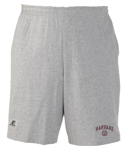 Harvard Arched Seal Cotton Blend Shorts