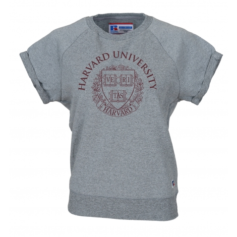 Harvard Women's Short Sleeve Sweatshirt