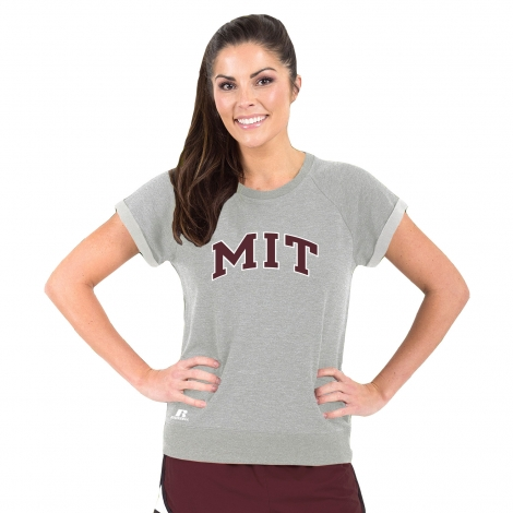 MIT Women's Short Sleeve Sweatshirt