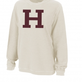 Harvard Youth Rally Corduroy Crew Pullover