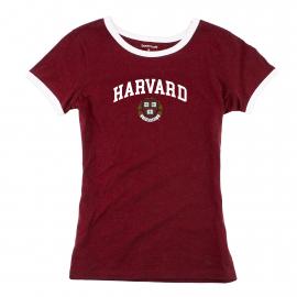 Harvard Girls Ringer Tee