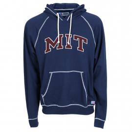 MIT Contrast Stitch Hooded Sweatshirt