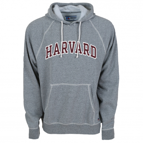 Harvard Contrast Stitch Hooded Sweatshirt