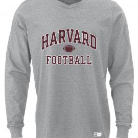 Harvard Football Essential Long Sleeve Tee Shirt