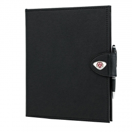 Harvard Classic Padfolio with Custom Medallions