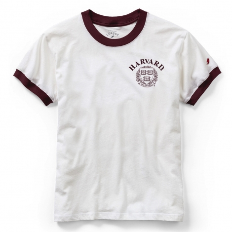 Women's Harvard Maroon Freshy Camp Ringer
