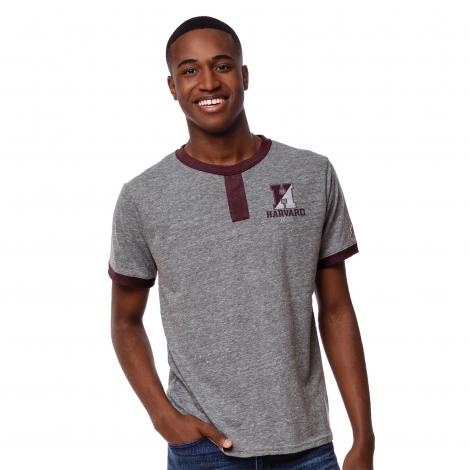 Harvard Vintage Tab Tee Shirt