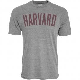Harvard Tri-Blend Arched Logo Tee Shirt