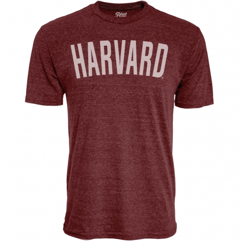 Harvard Tri-Blend Arched Logo Tee Shirt