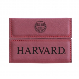 Harvard Laramie Business Card Case