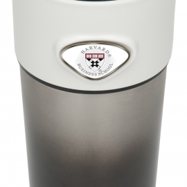 Harvard Business School Stainless Steel Tumbler with Custom Medallions