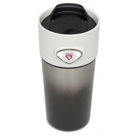 Harvard Medical School Stainless Steel Tumbler with Custom Medallions