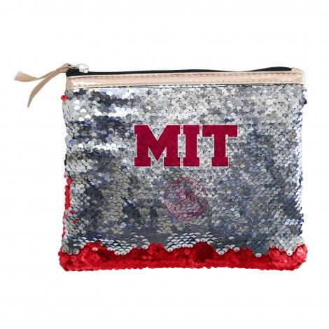 MIT Reverse Sequin Accessory Bag