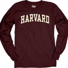 Harvard Men's Applique Long Sleeve Tee Shirt