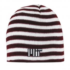 MIT Micro-Stripe Knit Beanie
