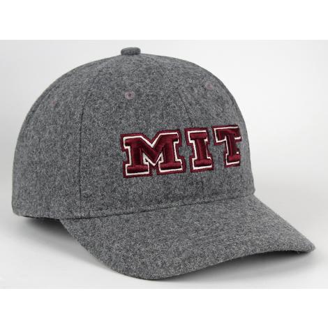 MIT Wool Structured Adjustable Hat