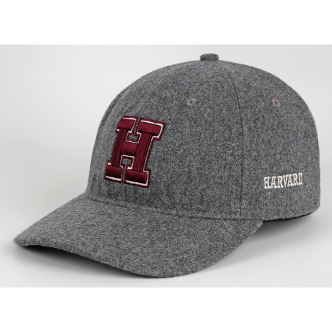 Harvard Wool Structured Adjustable Hat