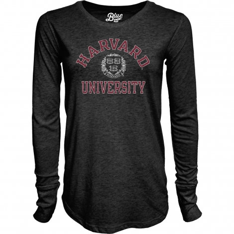 Women's Harvard Long Sleeve Tri-Blend T-Shirt