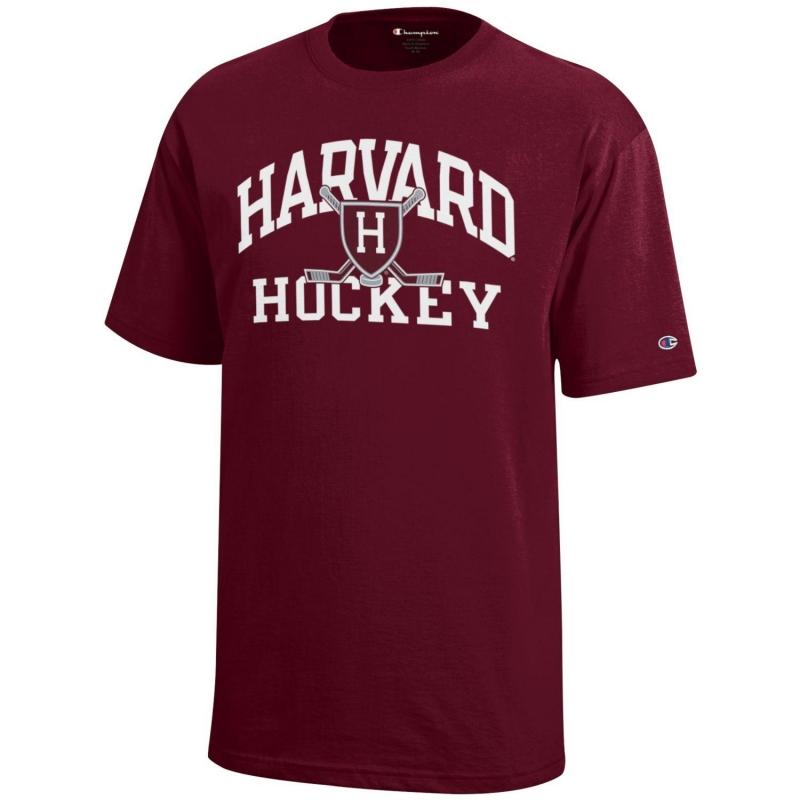 100d72ed9317b Youth Harvard Hockey Tee