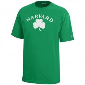 Youth Harvard Shamrock Tee