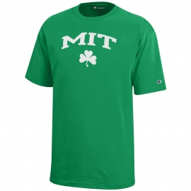 Youth MIT Shamrock Tee