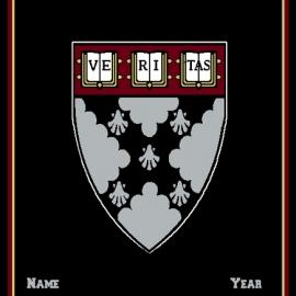 Harvard Business School Custom Made Personalized Blanket