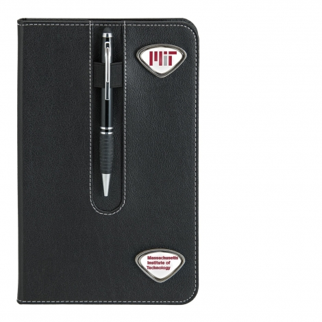 MIT Business Notebook with Custom Medallions