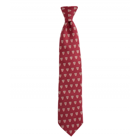 Vineyard Vines Tie with Harvard Shield Design