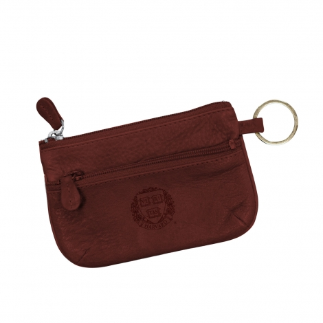 Harvard Coin Case and Wallet