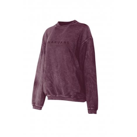 Women's Harvard Corded Crew Sweatshirt