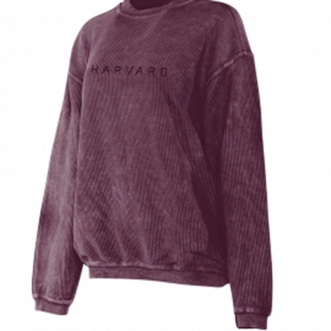Women's Harvard Corded Crew
