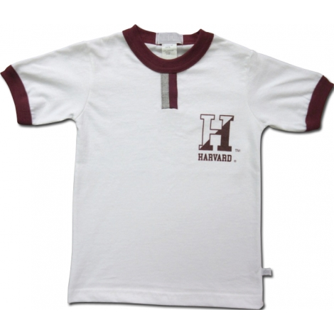 Harvard Cotton Tab Tee