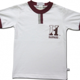 Harvard Youth Cotton Tab Tee