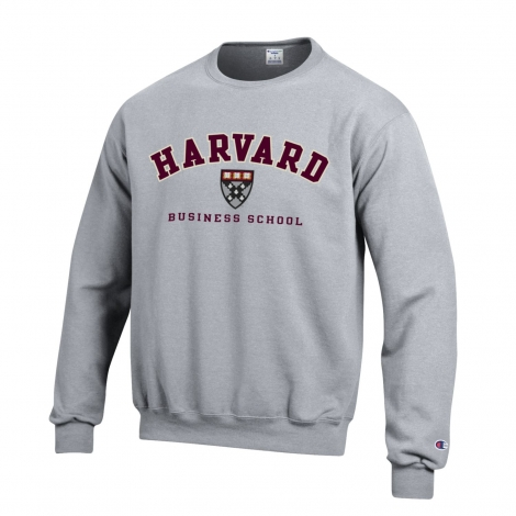 Harvard Business Applique Seal Crewneck Sweatshirt