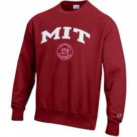 Reverse Weave MIT Crewneck Sweatshirt