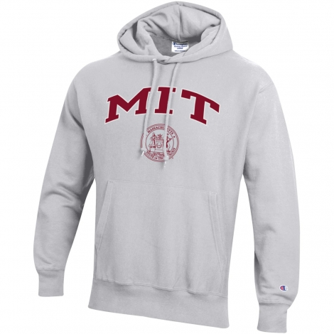 MIT Champion Reverse Weave Heavyweight Hooded Sweatshirt