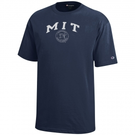 Youth MIT Seal Navy Tee Shirt