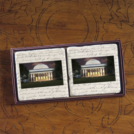 MIT Screencraft Tileworks Set of Marble Coasters MIT Dome