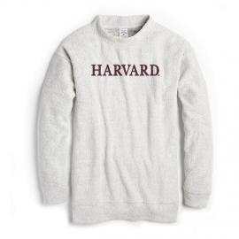 Harvard League Women's Ezra's Best Crew Mock Neck Pullover