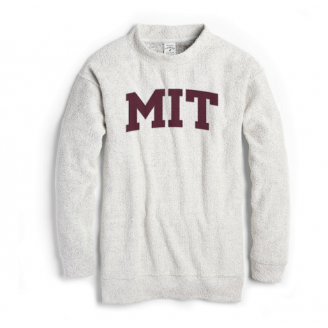 MIT League Women's Ezra's Best Crew Mock Neck Pullover